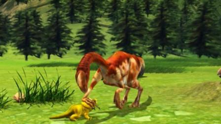 虹猫蓝兔恐龙世界 第65集 同归于尽