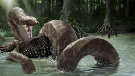 远古怪物竟然能一口吞下史前巨鳄