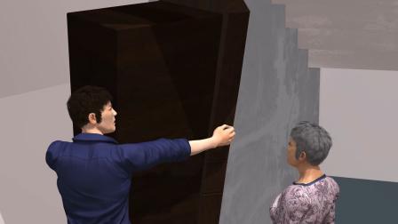 老人出殡 邻居贴告示禁逝者乘电梯 家人抬棺下17楼