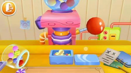 宝宝巴士小游戏 糖果工厂