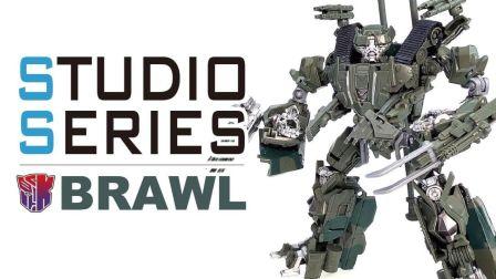 KL變形金剛玩具分享318 電影工作室SS系列 轟天雷/吵鬧 BRAWL