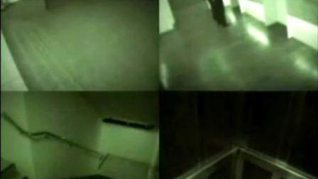 海南省儋州市那大镇荣兴大酒店电梯监控录像拍到鬼