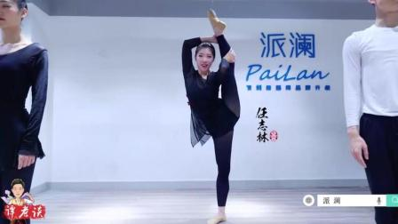 古典舞基本功展示, 男老师怎么可以跳的这么好, 这样的老师给我来一打
