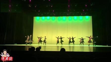 星海音乐学院民族舞《丝路绽放》, 会跳舞的男生最帅