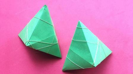 教你怎么用纸折好看的冰糖葫芦, 看着就想咬一口, 折纸视频教程
