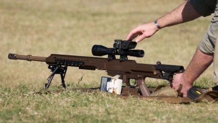 综合多项优点的巴雷特MRAD狙击步枪系统, 售价6000美金