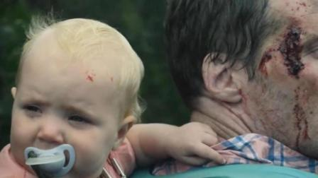 几个月大的宝宝和遭遇丧尸, 这位父亲的做法让人泪目!