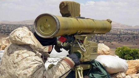 两枚反坦克导弹炸死12人 俄罗斯强力支持 叙军不断获得新武器