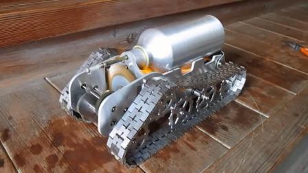 很酷的蒸汽坦克模型 声音碉堡了