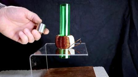 铜对强磁的奇特反应, 看起来很神奇!