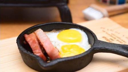 外国食玩-教你怎么做煎蛋培根米饭