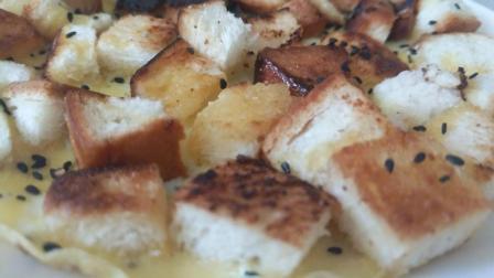 一个平底锅就能搞定的美食, 吐司鸡蛋饼, 值得尝试