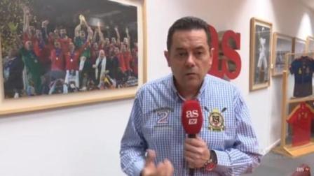 双牙之争开始之前, 西班牙知名主播回呛C罗: 等着看拉莫斯盯死你#玩转世界杯#