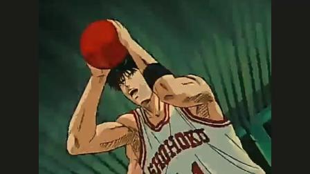 灌篮高手: 流川枫这一球赢得了尊重, 安西教练若有所思