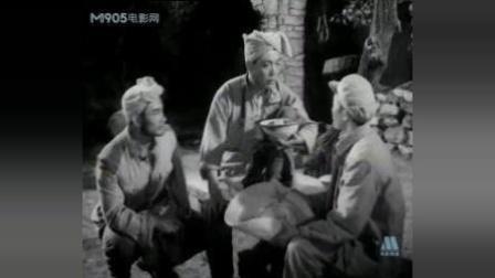 解放战争老电影《沙家店粮站》