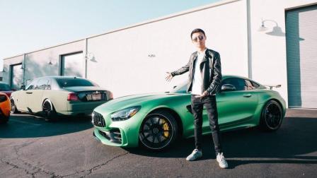 终于等到你 我的绿魔 AMG GT R