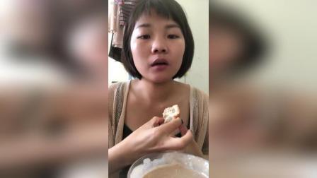 全麦贝果面包(口感比较糙, 但是热量不高), 五谷粉浆