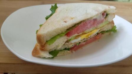 三明治的做法分分钟搞定你的早餐, 好吃到让人停不下口!