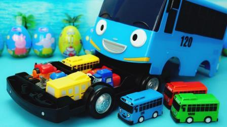 TAYO小巴士玩具 超大号的泰露巴士储存箱