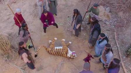 这剧组真抠门, 武松打死的老虎, 好像是个毛绒玩具