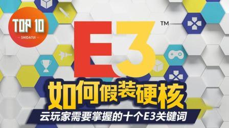 是大腿TOP10 #28: 如何假装硬核, 云玩家需要掌握的十个E3关键词