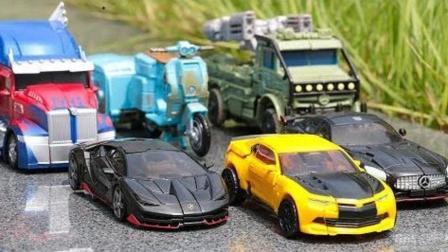 小汽车可以灵活转换成机器人
