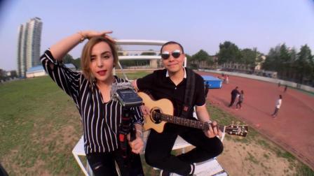 法国美女唱中文歌系列之: 没那么简单, 真不错