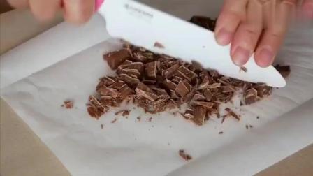 DIY三色巧克力脆皮樱桃冰淇淋