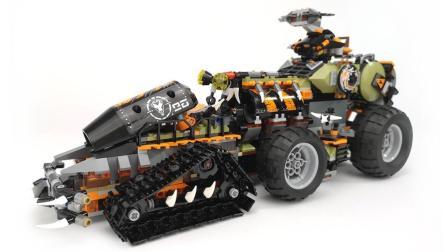 【月光砖厂】乐高LEGO70654幻影忍者发动机战斗车评测