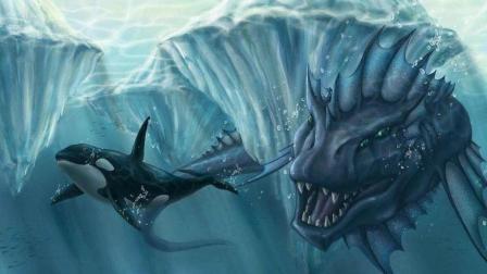 世界未解之谜! 科学家做鲨鱼实验, 不明生物神秘出现, 鲨鱼尸骨全无