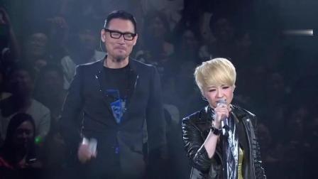 香港乐坛重量级的两个歌手, 难得一见的合唱, 百听不厌
