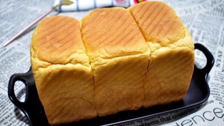 想吃吐司面包别出去买了, 在家自己做干净卫生, 口感超赞还简单