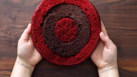 巧克力树桩形蛋糕, 动手做一个好看的根雕式的蛋糕吧