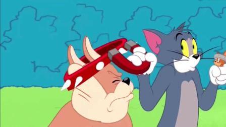 猫和老鼠: 汤姆和杰瑞, 巨型猫咪吓坏杰瑞