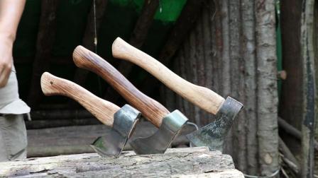 保健哥丛林小屋开讲, 野外斧子的不同与选择!