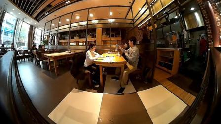 小伙客车旅游去延吉, 中午吃冷面石锅拌饭, 下午去商场买点衣服!