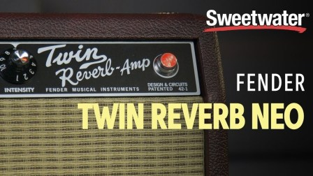 Fender '65 Twin Reverb Neo 85W 2x12 Tube Combo Amp Review