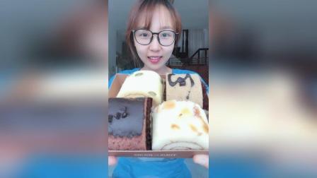 美拍视频: 多乐之日小蛋糕#吃秀#