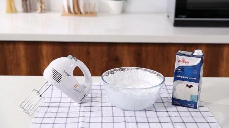 超详细新手小白如何打发淡奶油的做法