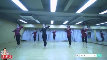 古典舞身韵《女儿情》, 一招一式都很舒展, 中间老师跳的到位