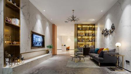 由伟壮展厅设计丨瓷砖展厅耀目登场, 用质感、造生活