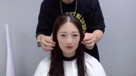发型师承诺帮女生设计一款减龄发型 剪完能年轻五岁 结果真的实现了