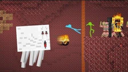 我的世界: 系统桌面版火柴人之地狱世界探险记