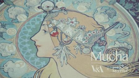 穆夏 手工丝网版画复刻艺术品 印物所+英国维多利亚阿尔伯特博物馆合作
