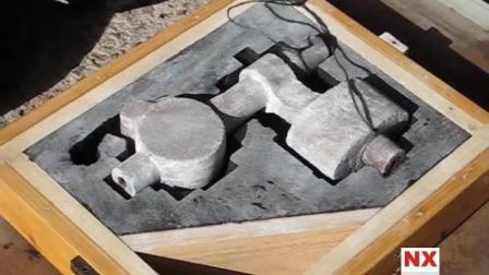 铸造工厂, 砂型铸造模具的制作过程