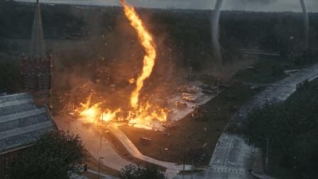 火焰龙卷风, 这部龙卷风的灾难片吓到我了!