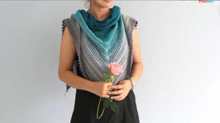 小辛娜娜编织2018第43集蒂芙尼三角披肩的钩织方法编织的全部视频