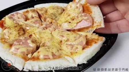 在家也能轻松自制披萨, 过程这么简单, 味道超级好