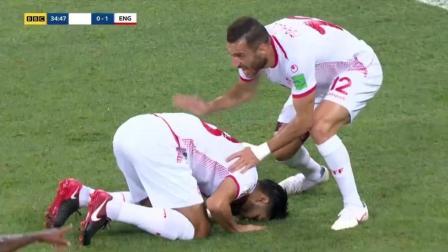 世界杯G组: 英格兰2-1险胜突尼斯, 凯恩梅开二度+补时绝杀