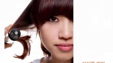 韩国 专业发型 刘海 卷发 适合 大脸 胖脸 日常